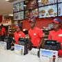 Inauguraçao do KFC do M. Bento