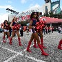 Cheerleaders também encantaram no Super Bowl