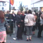 A noitada em Reykjavík no mês de Julho.