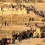 Deslocados em Mossul, Iraque