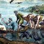 Raphael Santi - O Milagre dos Peixes, 1515