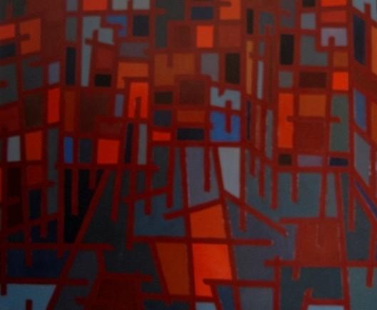 14. Construindo, óleo s tela, 100x120cm, 2011.JPG