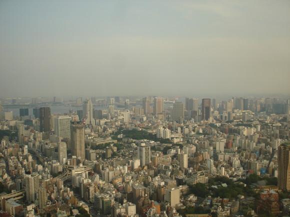 Panorâmica de Tokyo