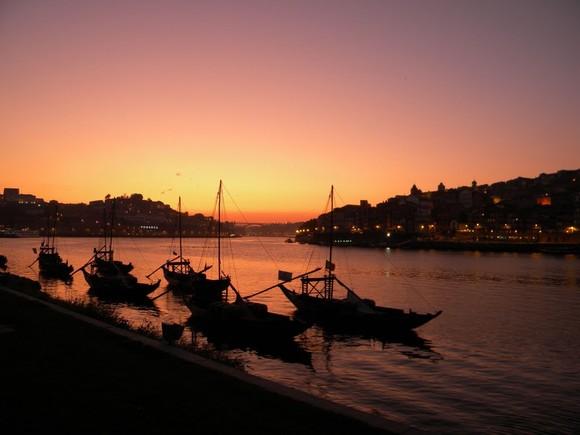 Pôr-do-Sol, Porto, Portugal