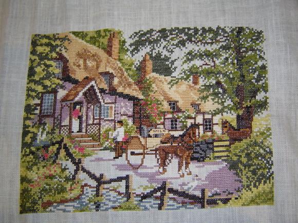 Farmhouse Scene 35x25,5cm.JPG