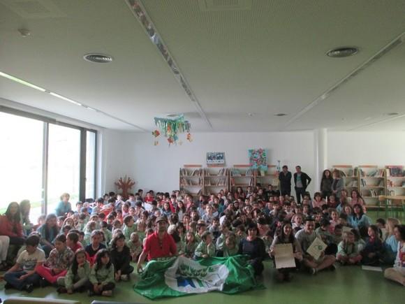 EB das Lagoas na Rota Eco-Escolas - Recebeu da Esc