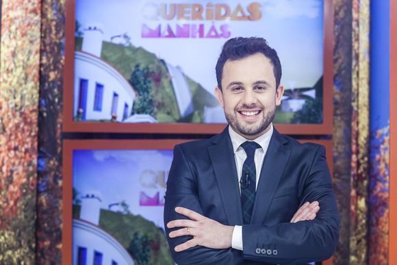 João Paulo Rodrigues conduz o Queridas Manhãs com Júlia Pinheiro