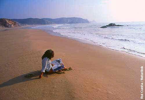 Praia em pessoa