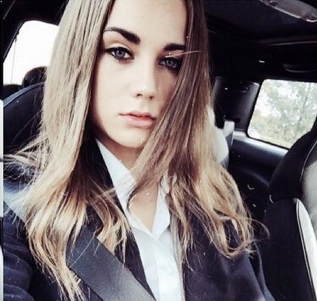 Estelle Bergkamp, filha de Dennis Bergkamp