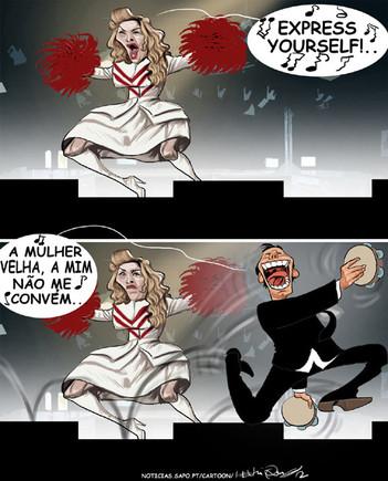Madonna em Coimbra