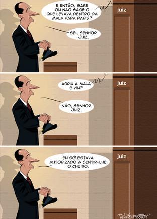 Cartoons - O motorista de José Sócrates