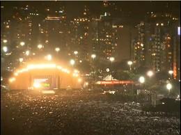 Réveillon Copacabana - Multidão em frente ao Hot