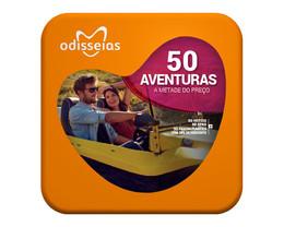 50 Aventuras | 200 Experiências - Pack Odisseias - Passatempo Maria das Palavras