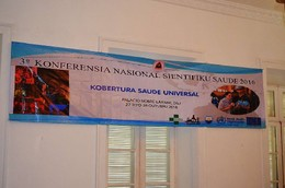 Konferénsia Nasional Sientífiku Saúde 2016 dato