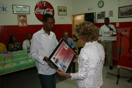 Black Panthers homenageia parceiros internacionais