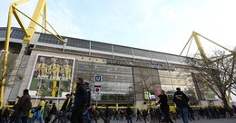 Segurança apertada no Borussia-Dortmund