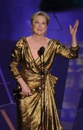 Meryl Streep vence Óscar, 28 anos depois