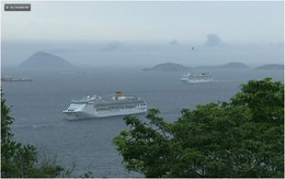Réveillon Copacabana - Transatlânticos chegam a