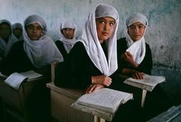 Escola em Cabul, Afeganistão