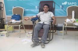 """""""Dar e Receber"""" – Doação de Sangue"""