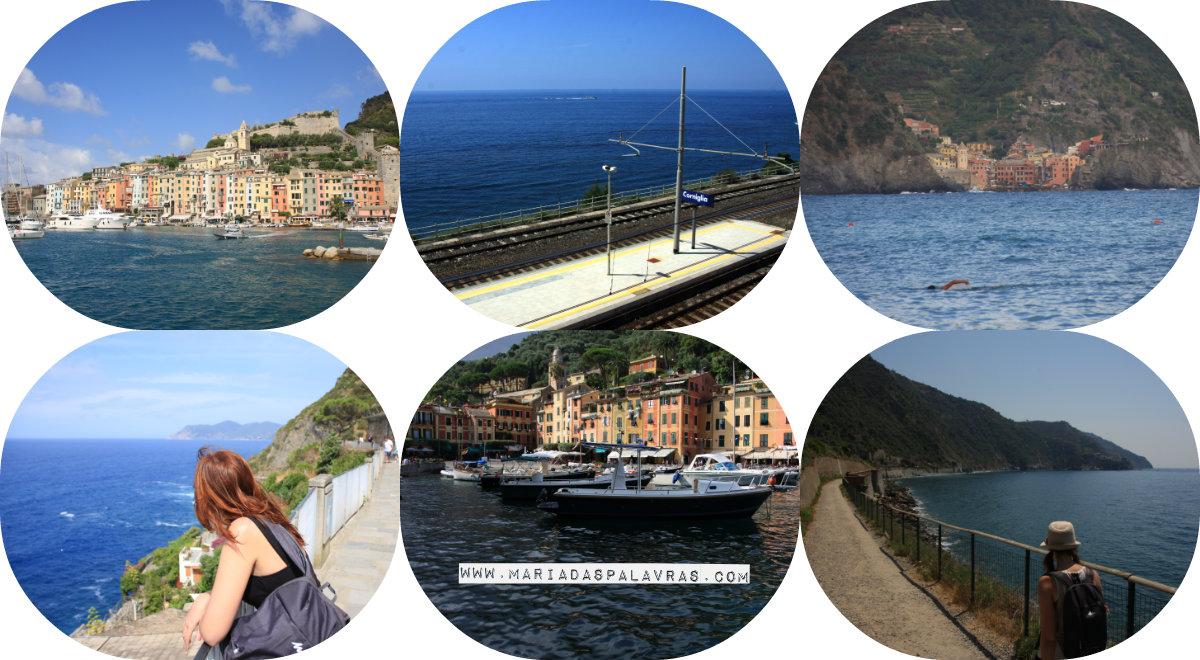 Uma viagem vale mais que mil palavras: Cinque Terre e Cia | Maria das Palavras