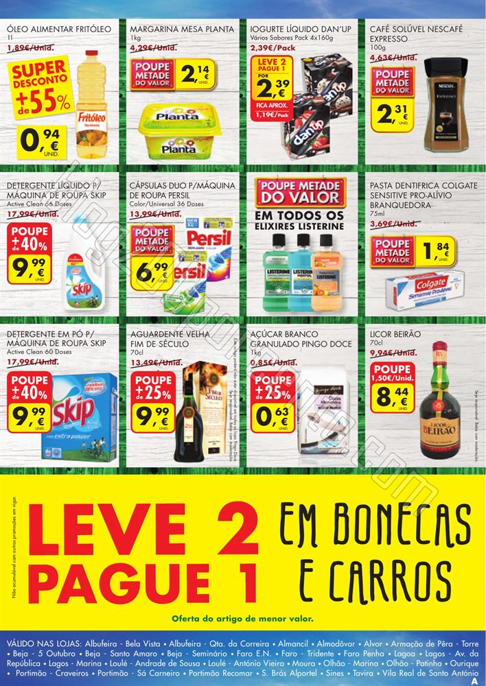 Antevisão Folheto PINGO DOCE Fim de Semana 5 a 8