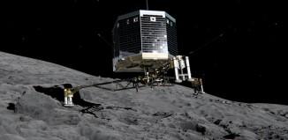 primeiro pouso controlado no nucleo de um cometa_P