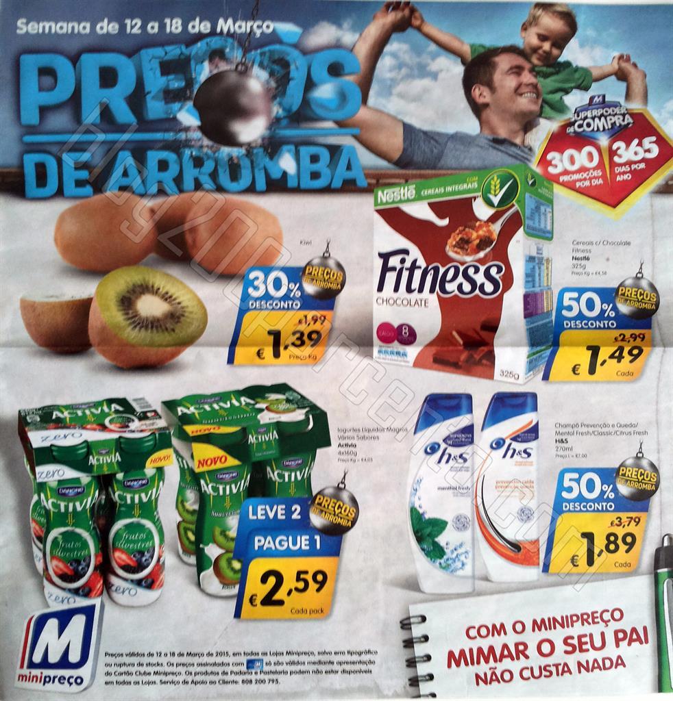 Antevisão folheto Minipreço
