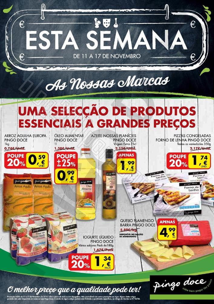 Novo Folheto PINGO DOCE de 11 a 17 novembro - Marc