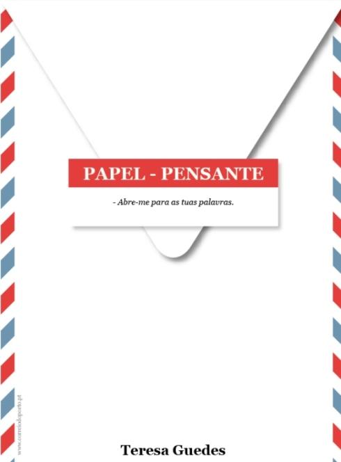 PAPEL-PENSANTE: Envelope de Teresa Guedes