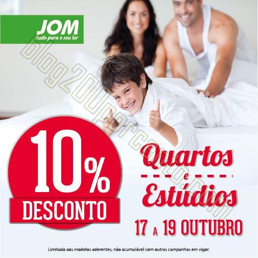 Antevisão promoção JOM fim de semana de 17 a 19
