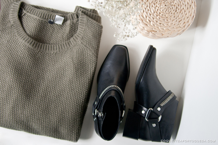H&M hm zara portugal 2014 winter boots knit roupa