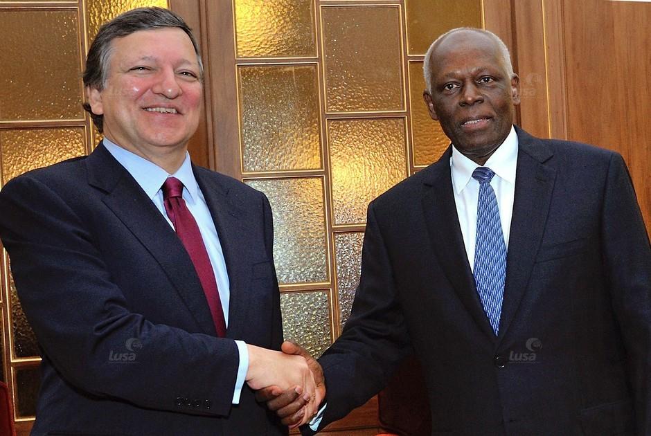 Angola Visita De Durão Barroso